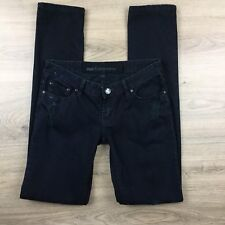 One Teaspoon Tapered Black Distressed Size 8US or 12 AUS Women's Jeans (CG6)