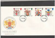 UNITED KINGDOM: #28 - FDC / H E R A L DRY  / Fine Used-Offered AS IS.