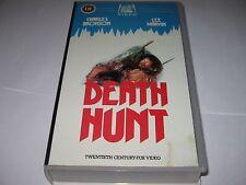 DEATH HUNT (1981) CHARLES BRONSON LEE MARVIN - V.RARE PRE-CERT VHS VIDEO