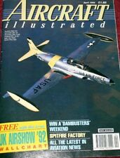 Aircraft Illustrated Magazine 1992 April USAF Phantom F-4G,Wyton Canberra