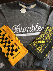 Bumble Dating App Sweater Shirt Sweatshirt NWT Cozy Tinder Raya Swag Promo Gear
