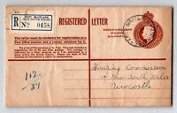 Australia 1953 Maitland Registered Letter Cover to UK - Z13341