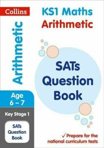 KS1 SATS MATHS ARITHMETIC BOOK FOR AGES 6-7
