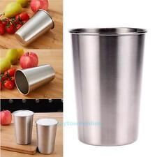 350ML Stainless Steel Camping Cup Water Beer Coffee Tea Cup Outdoor Mug Bottle