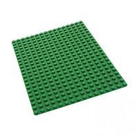 1 x Lego System Bau Basic Platte 16x22 Noppen 16 x 22 grün Rasen Wiese Set 590 3