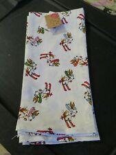 Basset Hound Skiing Ski's Kitchen Towels Set of 2 Jingles & Joy Nwt