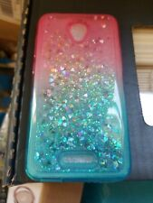 Alcatel idealXCITE Liquid Glitter Cute Case Cover