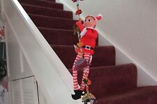 """12"""" GIRL ELF BEHAVING BADLY  IDEAL FOR THE ELF WHO LIVES ON THE SHELF TRADITION"""