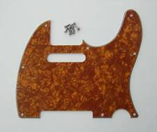 Tele Style Scratch Plate Tele Guitar Pickguard Gold Pearl for Fender Telecaster