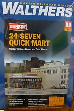 Walthers Cornerstone HO #3477   / 24-Seven Quick Mart - Kit --  (Kit Form) NEW