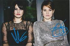 Uh Huh Her UHH Signed 4x6 Photo Cam Grey Indie Rock Leisha Hailey 'Future Souls'
