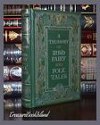 Treasury of Irish Fairy and Folk Tales New Sealed Leather Bound Collectible Gift