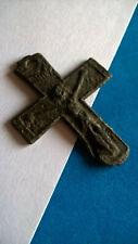 Antique Médiévale Croix Romaine Cross Pendant