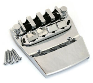 Allparts Chrome Ric® Rickenbacker® 4001/4003® Style Bass Bridge BB-0316-010