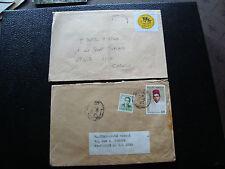 MAROC - 2 enveloppes (cy55) morocco