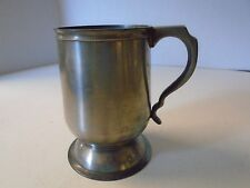 English Pewter Drinking Tankard Cup Beer Stein England