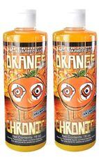 2 Bottles Orange Chronic 16 Oz Water Glass Pipe Cleaner. Ontario Seller
