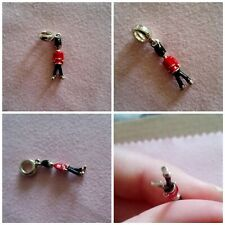 Authentic Chamilia CHAM 925 Toy Soldier Sterling Silver Dangle Charm Bead