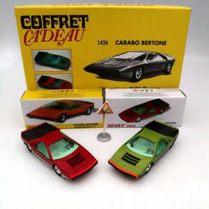 Atlas 1:43 Dinky Toys SET 1426 1426P Carabo Bertone Mecanique Alfa Romeo Diecast