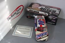 2018 Kyle Busch Snickers Almond NASCAR 1/24 Autographed