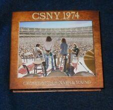 Crosby Stills Nash & Young  CSNY 1974 BluRay/ DVD Pure Audio Rare Mint Condition
