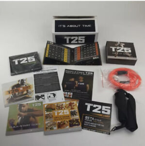 Focus T-25 Workout DVD Set By BeachBody (Alpha Beta And Gamma Phases)