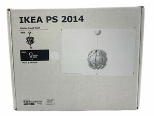 """IKEA PS 2014 Ceiling Pendant Lamp Contemporary Modern 14"""" White 103.832.44"""