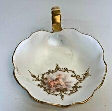 Limoges France Porcelain Lady Spittoon