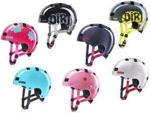 Uvex Kinder BMX Skate Fahrradhelm Kid 3 in 7 Farben