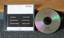 Honda Civic '01 Electronic Workshop Manual on 1 CD  Genuine Honda
