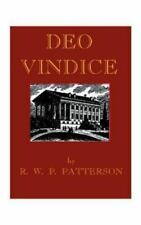 Deo Vindice by Robert W. P. Patterson (1999, Paperback)