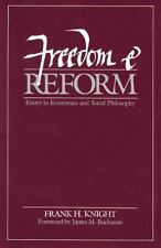Freedom and Reform Knight, Frank H. Paperback