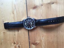 Jaguar J628 swiss watch with leather band is for sale in good condition