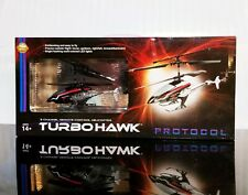 Protocol Turbohawk RC 3 Channel Remote Control Helicopter Retail $70