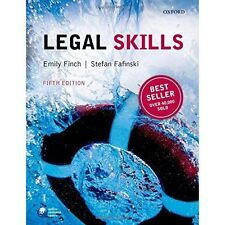 Legal Skills by Emily Finch, Stefan Fafinski (Paperback, 2015)