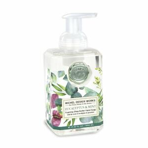 Michel Design Works Foaming Hand Soap, Eucalyptus & Mint (FOA365)