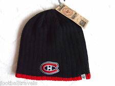 MONTREAL CANADIENS NAVY '47 Brand BEANIE TUQUE Hat Ice Hockey FORTY SEVEN