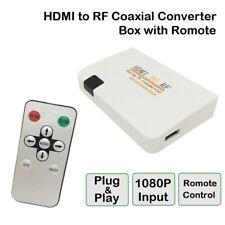 HD MI To RF Coaxial Modulator Converter For TV HD MI Digital Signal to RF Signal