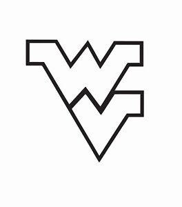 West Virginia Mountaineers NCAA Vinyl Die Cut Car Decal Sticker-FREE SHIPPING