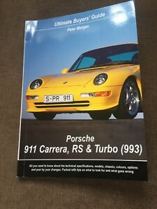 NEW Porsche 911 BOOK 993 BUYERS Guide OWNERS ENTHUSIASTS Specs Options Problems