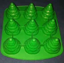 Wilton Christmas Tree 3D Silicone Cake Cookie Fondant Chocolate Baking Mold Pan