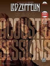 NEW Guitar Sessions -- Led Zeppelin Acoustic: Book & DVD by Led Zeppelin