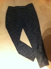 Next Trousers Size 12 New Black Grey Mix