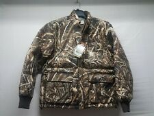 Drake LST Goose Down Coat Max 5 Camo Large duck waterfowl banded avery hunting