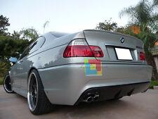 SPOILER POSTERIORE BMW E46 98-05 PER COUPE BERLINA SUL COFANO LOOK M3