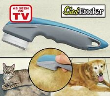 SHED ENDER As Seen on TV Professional Gentle De-Shedding Tool For Cats & Dogs