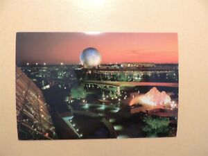 Walt Disney World Epcot Center Orlando Florida vintage postcard Future World