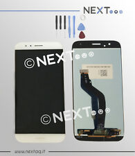 Schermo Display touch screen Huawei G8 bianco+ biadesivo + kit riparazione