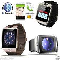 DZ09 HD Bluetooth Smart Wrist Watch Phone +Camera SIM Card For Android IOS Phone