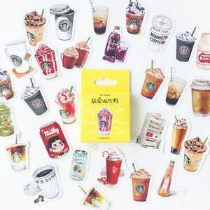 Mo Card Breakfast Cartoon Deco Stickers 45pc planner journal diary cute sticker